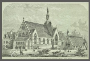 St Thomas Agar Town (Engraving: 1858)