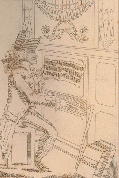 Organist at Bagnigge Wells