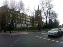 The Union Chapel, Compton Terrace, Islington, London, UK. (February 2020)