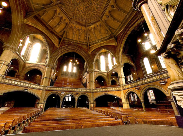 The Union Chapel, Compton Terrace, Islington, London, UK (c.2015) [Source: 'Sunday in London': pinterest.com]