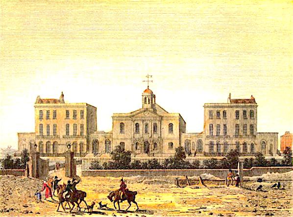 Compton Terrace c.1806 [Source: locallocalhistory.co.uk/]